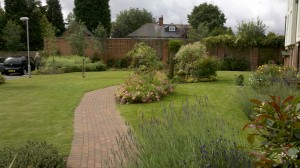 Providing commercial grounds maintenance and gardening services